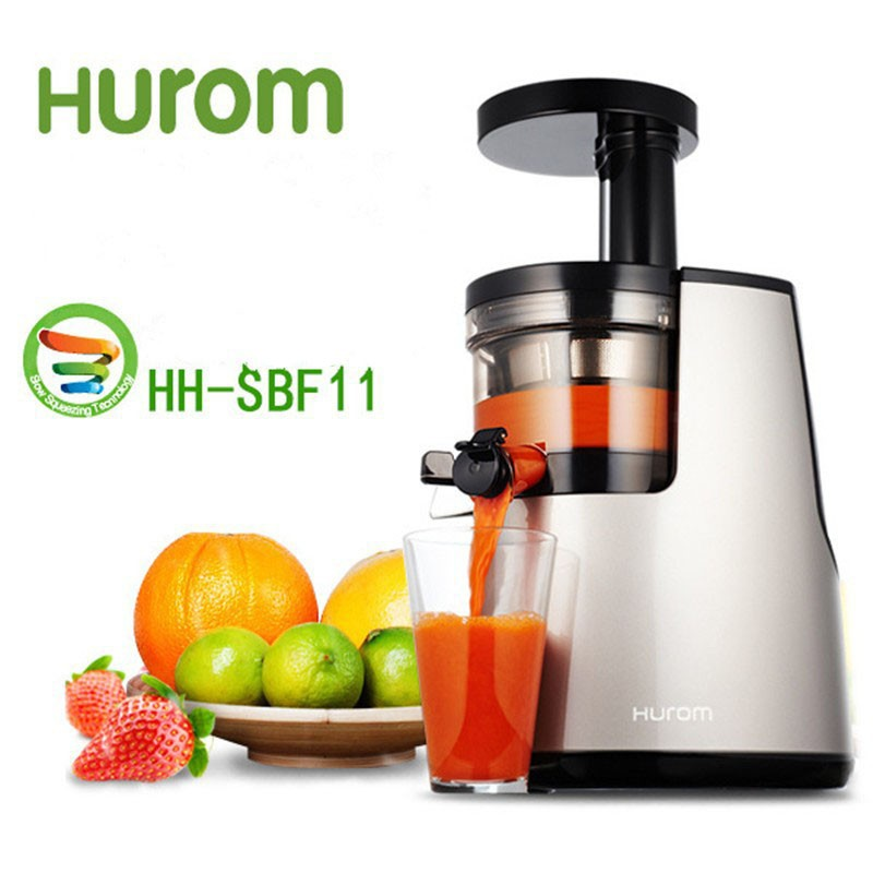 2nd Generation 100% Original HUROM Elite HH-SBF11 Slow Juicer Fruit Vegetable Citrus Low Speed Juice Extractor Made in Korea whole slow juicer 300w 75 cm fruits low speed juice extractor juicers fruit machines