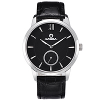 CASIMA Marca 2017 Novos Produtos Homens de Negócios Relógios de Quartzo Couro Strap Masculino Atmos Relógio de Presente relógios de Pulso Montre Homme Reloj|homme|homme montre  -