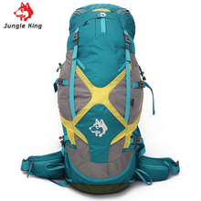 JUNGLE KING outdoor sports bags for men and women external frame high quality expensive backpack hiking camping climbing bag 65L