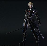 25 cm Metal Gear solid Square Enix de Metal Gear Rising Revengeance figuras de ação PVC brinquedos figuras coleção brinquedos