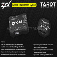 Tarot RC GS 3 axis Pan Tilt and Roll Camera Mount Gimbal stabilization Gyro system ZYX GS