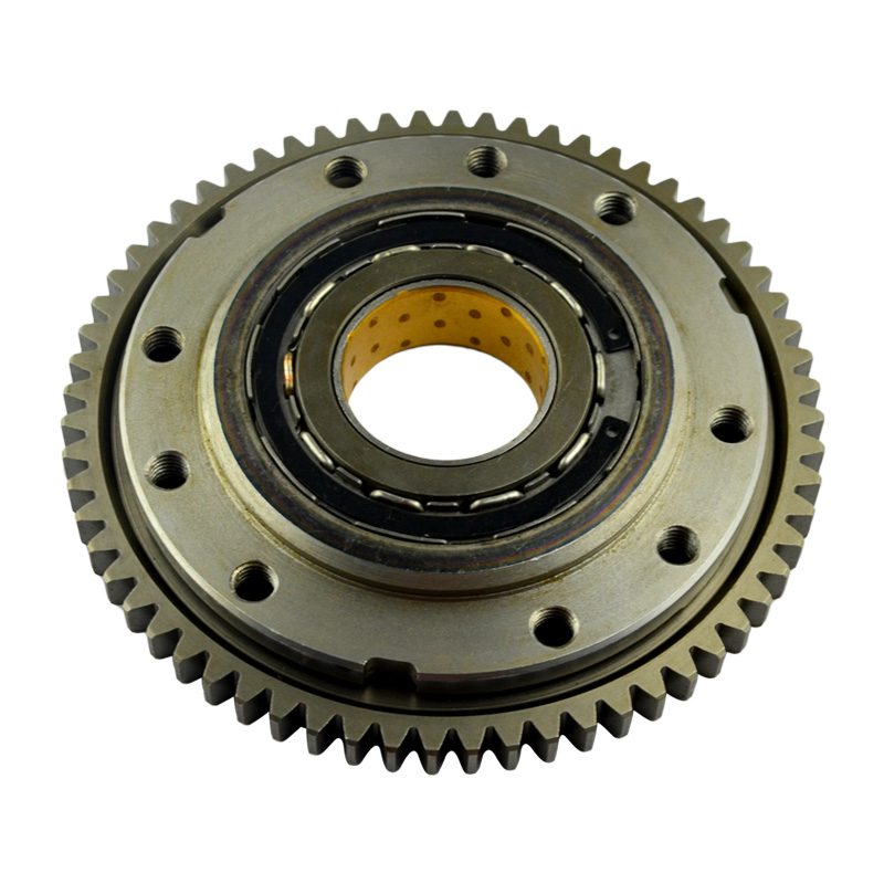 Motorcycle One Way Bearing Starter Clutch Gear & Flywheel & Beads Assy for Aprilia RSV1000 Mille R / SL1000 Falco / RSV Tuono