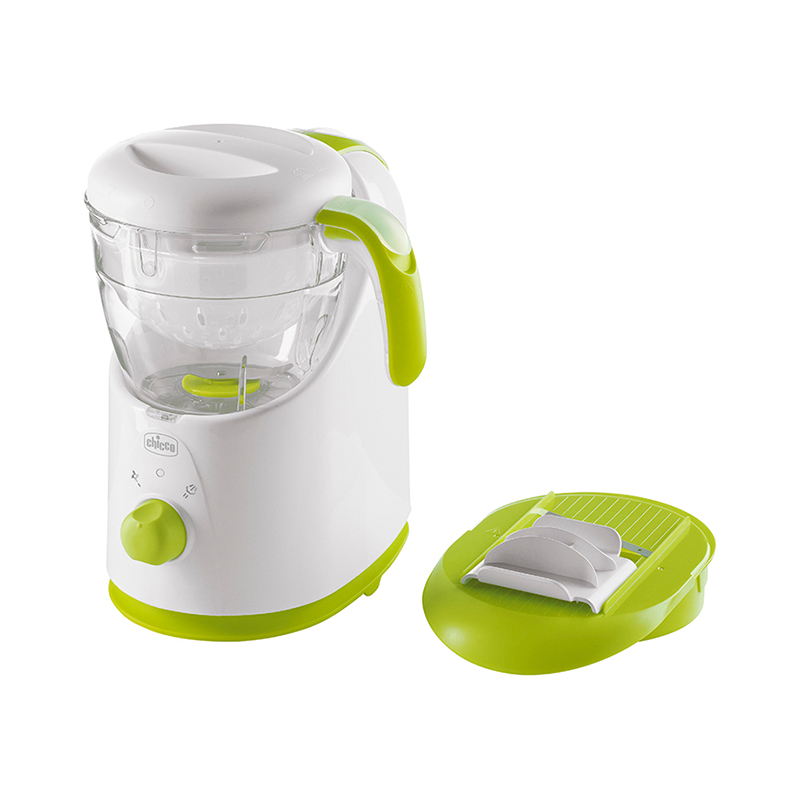 Electric Porridge Pot 3-in-1 Steamer-Blender Easy Meal Chicco feedkid