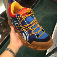 Hot Brand Round Toe Woman Casual Shoes Front Lace Up Woman Sneakers Mixed Color Leather Shoes Retro Stylish Lover Couple Shoes