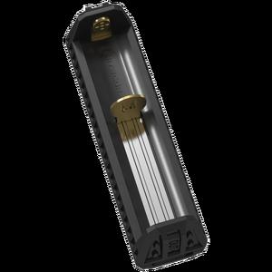 Image 3 - Nitecore f1 carregador de bateria inteligente, carregador de bateria micro usb original, flexível para li ion/imr 100% 26650 18650 bateria