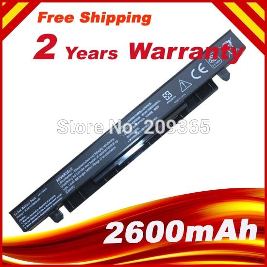 New Laptop Battery for ASUS A41-X550 A41-X550A X550 X550B X550C X550CA X550CC X550V X550D genuine new laptop ac dc power jack connector cable wire socket for asus k56 k56c k56ca k56cm x550 x550c x550ca x550cc x550cl