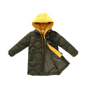 Image 5 - Boys cotton coat 2019 new childrens mens winter down jacket cotton child big child fake two cotton jacket thick coat