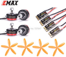 Original EMAX RS2205S 2300KV Motor 3-4S + Favourite FVT LittleBee 30A-S BLHeli_S for DIY mini drone QAVR250 quadcopter