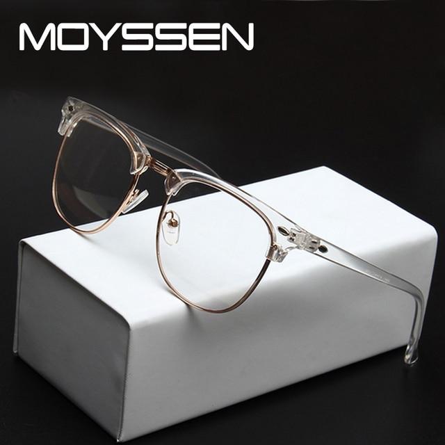 631cc5b82e MOYSSEN Men Brand Designer Retro Eyeglasses Frame Vintage Prescription  Myopia Reading Glasses Women 3016 Optical Eyewear oculos