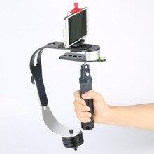 Черный Pro Ручной Камеры Стабилизатор Видео Steadicam Для Цифровой Зеркальный Фотоаппарат Canon Nikon Camcord Устойчивый Steadycam Высокое Качество