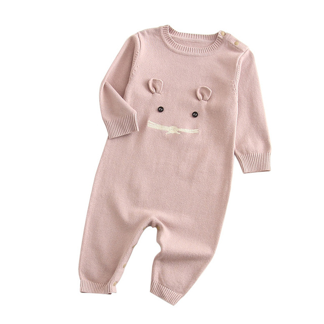 Baby & Toddler Unisex Cotton Knitted Rompers