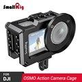 Клетка для цифровой зеркальной камеры SmallRig для DJI Osmo Action с резьбой 1/4 3/8 отверстия для резьбы Arri для DIY опций CVD2360