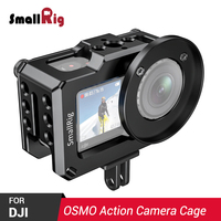 SmallRig DSLR Camera Cage for DJI Osmo Action Feature With 1/4 Thread 3/8 Arri Locating Thread Holes For DIY Options CVD2360