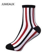 JUMEAUX 2017 Демисезонный модные Для мужчин носки вертикальные полосы хит Цвет носки Модные Бизнес Хлопковые гольфы для джентльмена