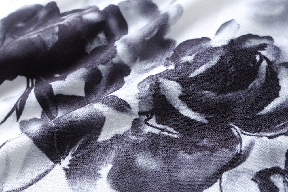 Stampa Vestito Belt Primavera Femminile E Sleeve Del Grande Di 2019 Hepburn V Pendolo Super Lungo L'estate Belt Donne Retro Maniche short Lunghe Collare Abiti No Long Delle Vento A 2D9YIWEH