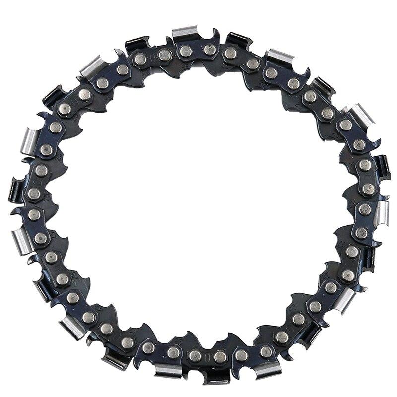 4 дюйма шлифовальник диск и цепи 22 зуб четкий вырез цепи набор для 100 мм Угловая шлифовальная машина