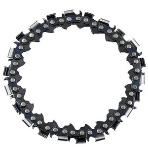 Image 5 - 4 بوصة طاحونة القرص وسلسلة 22 الأسنان غرامة قطع سلسلة مجموعة ل 100 مللي متر زاوية طاحونة