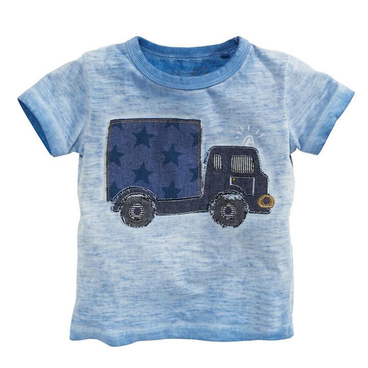HTB15uLyPXXXXXXgapXXq6xXFXXXI - Little maven kids brand clothes 2017 summer baby boys clothes truck print t shirt Cotton brand tee tops 50677