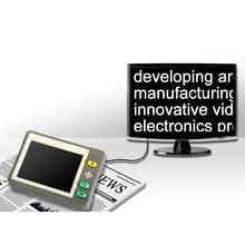 """3.5 """"LCD Portátil de Vídeo Digital Portátil Lupa de Lectura Electrónica Ayudar Herramienta Lupa"""