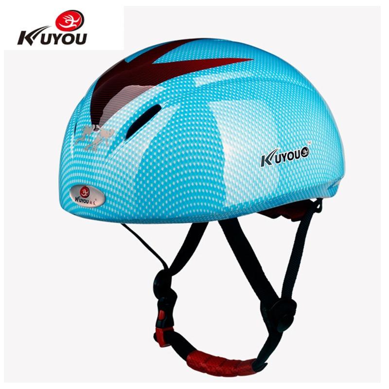 Kuyou cycling bicycle skating helmets bike safety roller skating EPS ultralight 288g 6holes exercise skate helmet