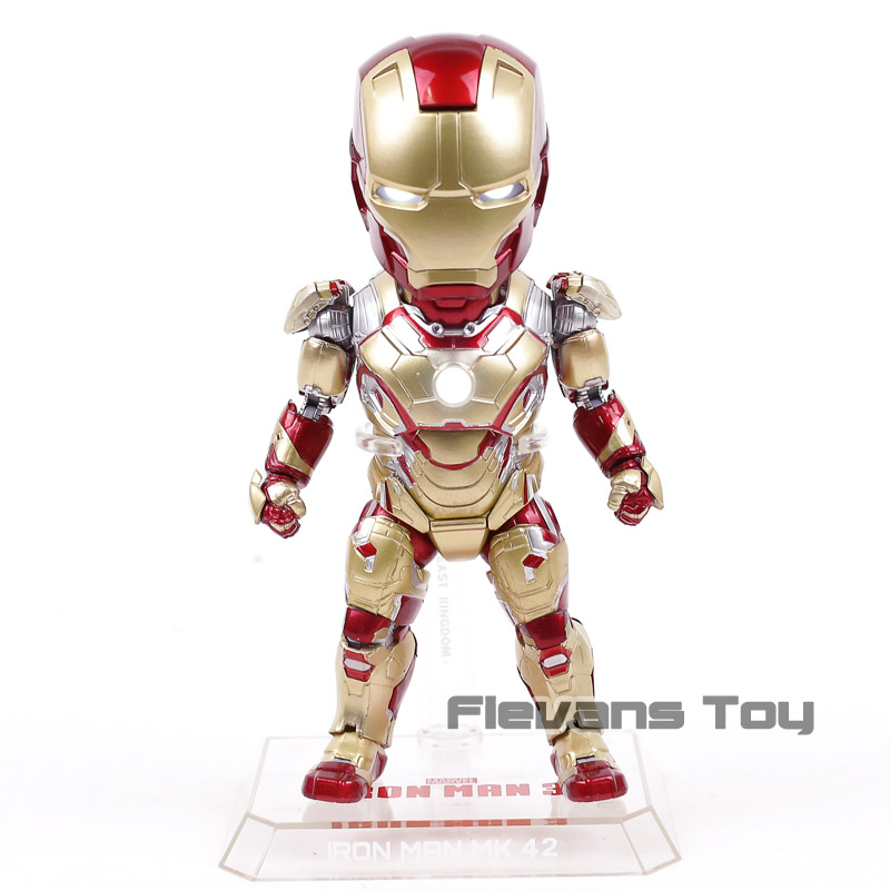 Egg Attack Action eaa 036 Marvel Iron Man 3 Mark XLII 42 PVC Action Figure Collectible