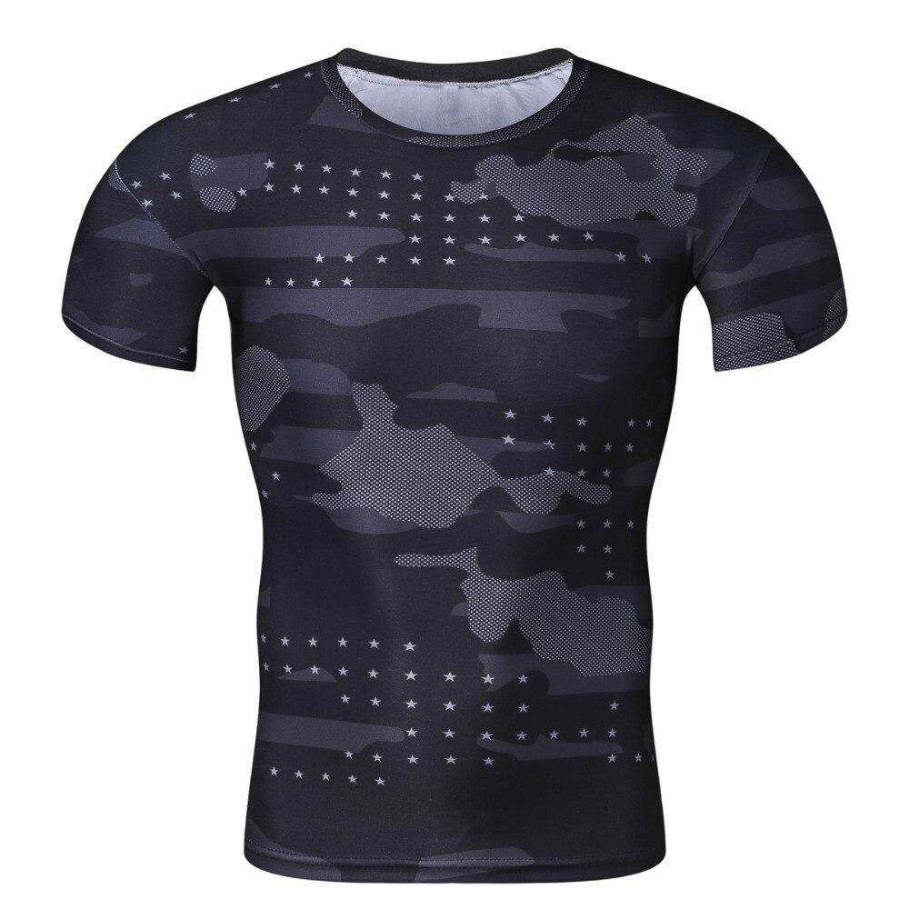 2017 Ерлерге арналған Cool Creative T-shirt Жасыл - Ерлерге арналған киім - фото 6