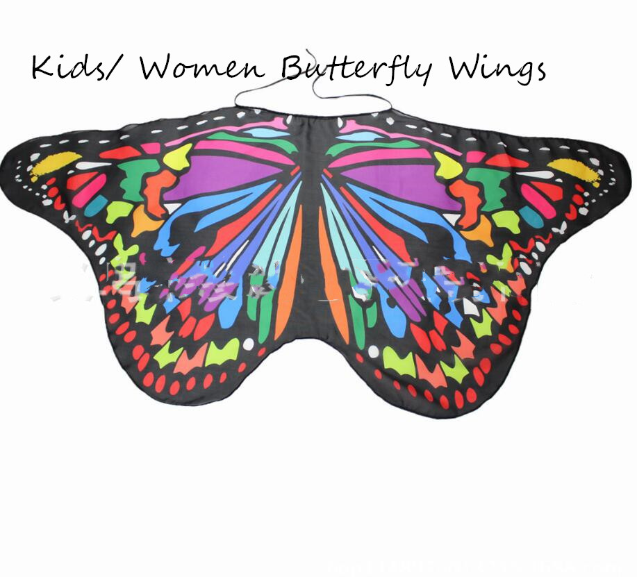 Monarch Butterfly Wings Costume Accessory