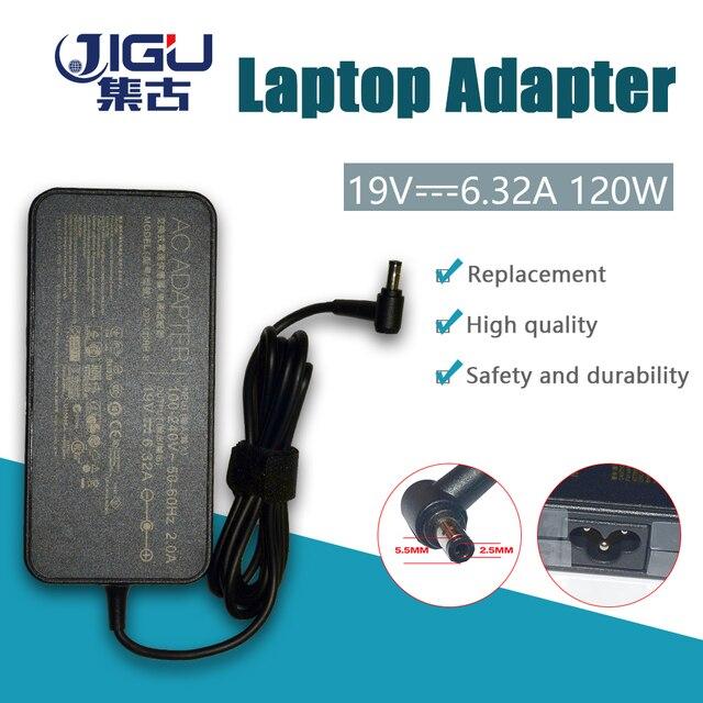 JIGU Замена для ASUS 19 V 6.32A 5,5*2,5 мм ADP-120RH PA-1121-28 G50 G73 G71 K55 K53 K73 N53 N550 GL751 UX501 X550