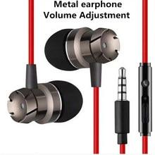 有線で耳イヤホンヘッドフォン低音ヘッドセットスポーツ音楽fone社ouvidoヘッドフォン携帯電話用マイクでMP3/4プレーヤー