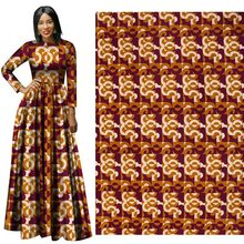 Fall and Winter 2019 New Full Polyester Plain Printed Cloth 112-114 Width  100% african wax print fabric