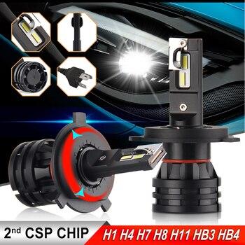 BraveWay 2019 nouveauté 16000LM H4 LED Phares pour les Voitures H1 H4 H7 H8 H9 H11 HB3 HB4 9005 Turbo ampoule LED pour les Lumières Automatiques 12V