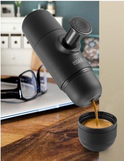 Fei 1 pc 2015 nouveauté minipresso WACACO machine à expresso à main mini machine à café cafetière portable pour la conception de voyage en plein air