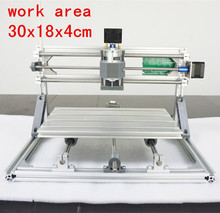 CNC 3018 500mw/2500mw5500mw laser GRBL control Diy laser engraving ER11 CNC machine,3 Axis pcb Milling machine,Wood Router 30×18
