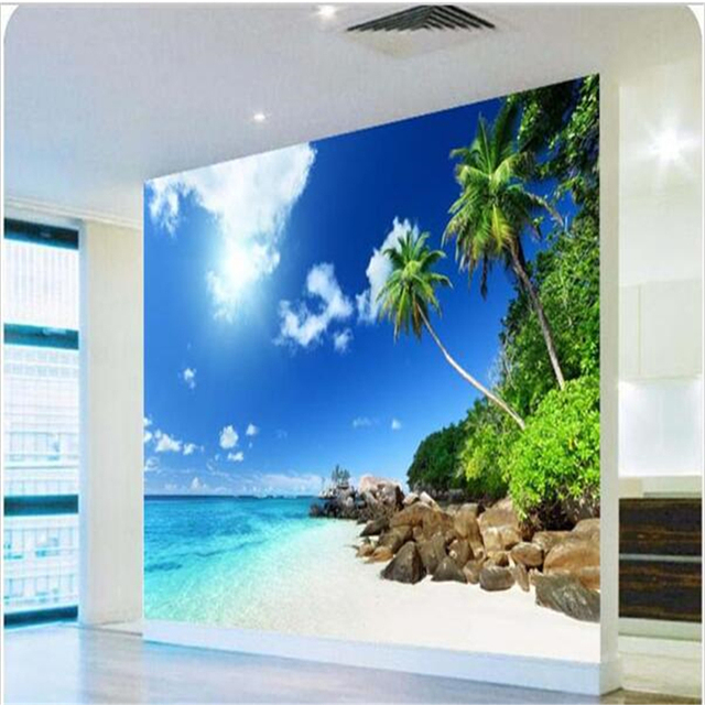 Beibehang Fototapete hochwertige 3d übertragen HD meer schlafzimmer ...