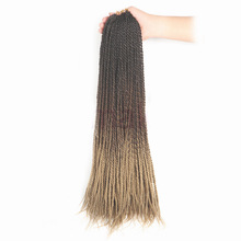 SAMBRAID 24 Inch 30Roots/Pack Ombre Senegalese Twist Crochet
