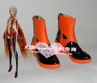 Suçlu taç yuzuriha inori orange cadılar bayramı cosplay ayakkabı çizme h016