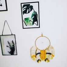 INS Decoration Nordic Dream Catcher Woven Hanging Ornaments Crafts Home Childrens Room Photography Props