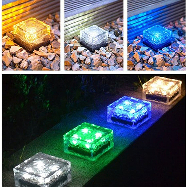 Fantastisch Aliexpress.com : LED U lampe Deck pfad Licht, weiß blau RGB Solar  LD47