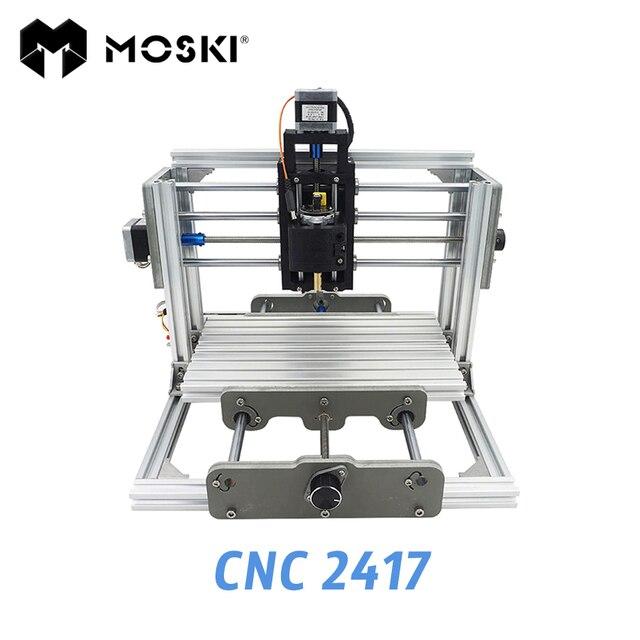 MOSKI ,2417 diy engraving machine, 3axis mini Pcb Pvc Milling ...