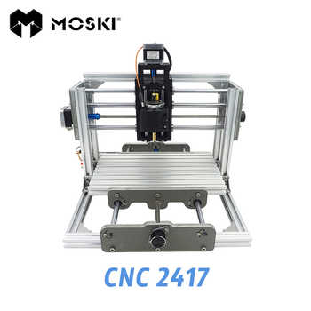 MOSKI,CNC 2417 diy engraving machine, 1000mw 2500mw 5500mw laser, 3axis Pcb Pvc Milling, metal and wood Carving, GRBL - DISCOUNT ITEM  30% OFF All Category
