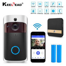 Smart IP Video Intercom WI-FI Video Door Phone Door Bell WIFI Doorbell Camera For Apartments IR Alarm Wireless Security Camera(China)