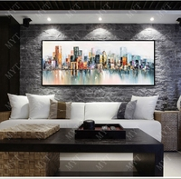 MYT Big Size Decorative Poster Wall Art Canvas Oil Painting Modern Abstract Paintings Wall Picture For Living Room Home Decor