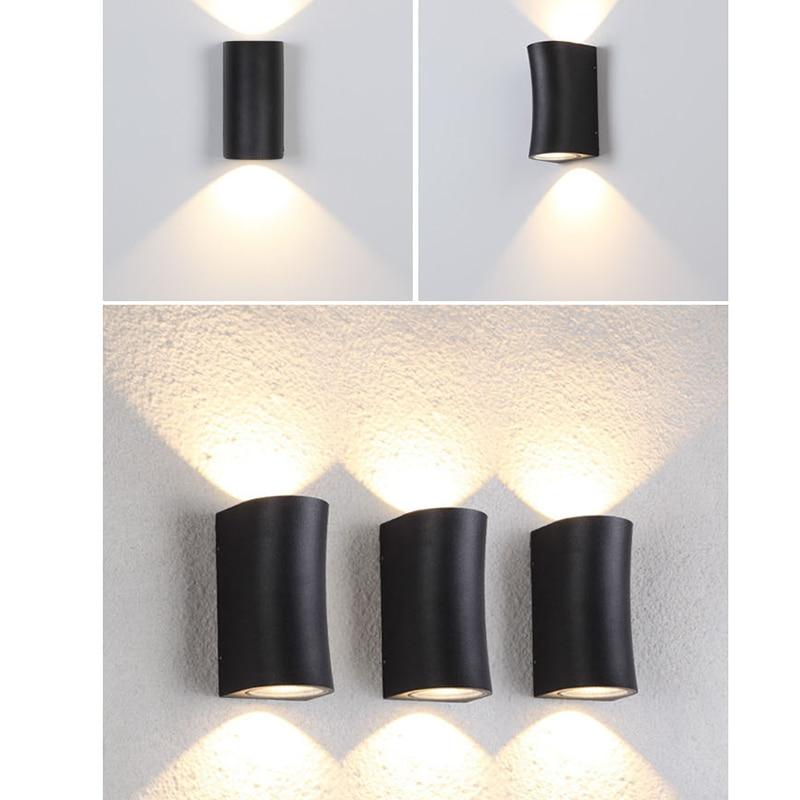 luzes de parede Ao Ar Livre Indoor