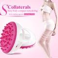 Soft Anti Cellulite Body Massager Brush Glove Slimming Relaxing Scrub Massager Bath Spa Color Randomly Home