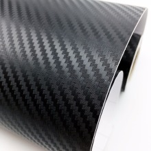 50CM Width Car Stickers 3D Carbon Fiber Vinyl Film Waterproof Styling Wrap Auto Motorcycle Accessories