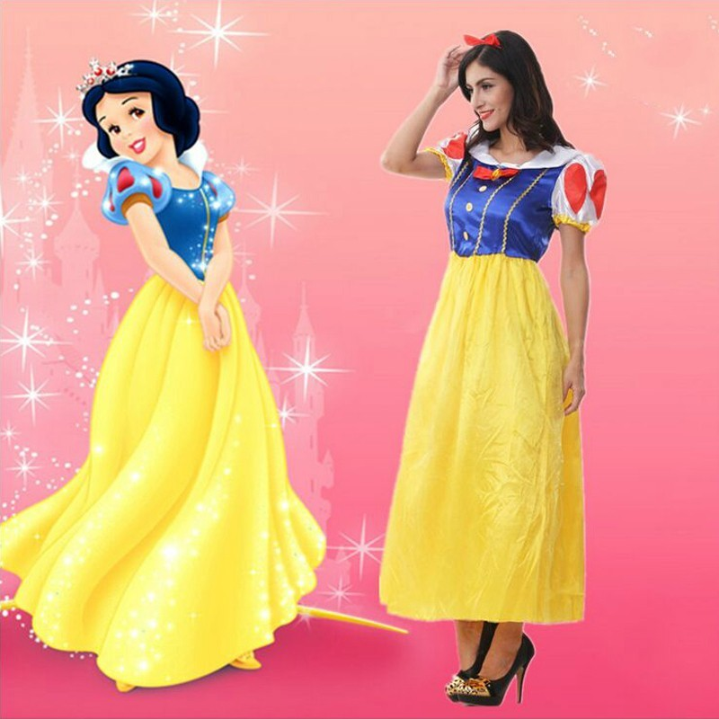 Fantasia princesa Snow White traje de cosplay carnaval disfraces ...