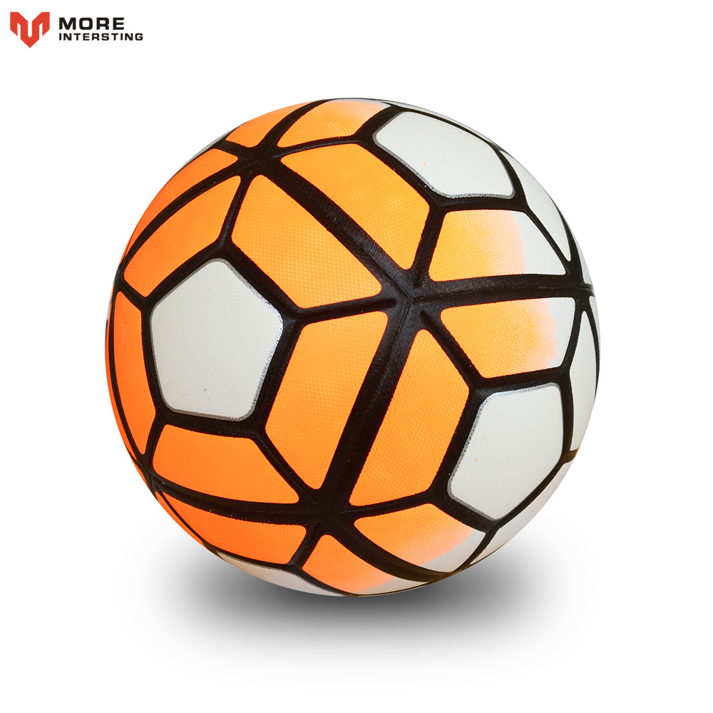 Size 5 Size 4 Seamless PU Football Ball Anti-slip Granules Soccer Ball High Quality For Game Match Training Youth Kids 3
