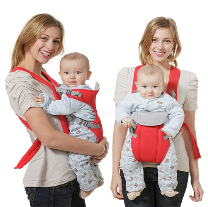 Front Carrier Backpack Sling Breathable Newborn Wrap Rider -5083