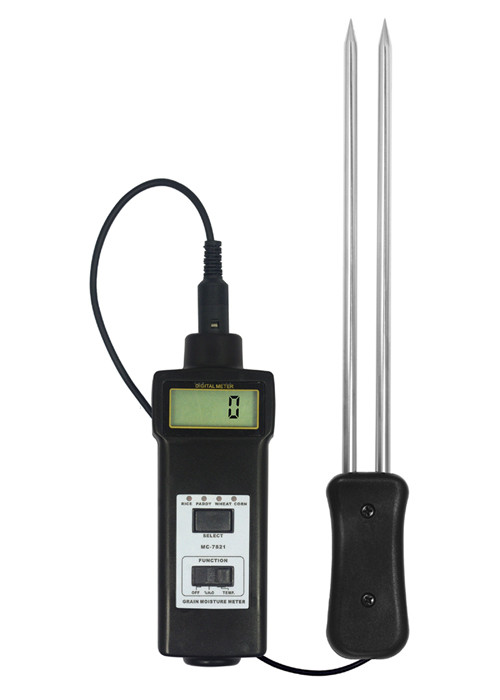 Hygrometers TMC7821 professional Grain Moisture Meter Tester Hay Oat Wheat 8~20% Temperature -10 ~ 55Celsius humidity цена