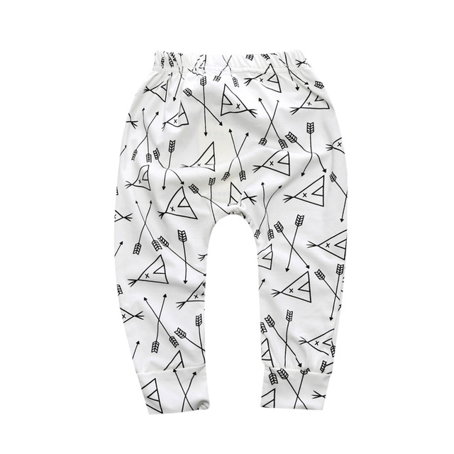 Baby Boys Trousers For Girls Hot Arrival Geometric Pattern PP Pants Newborn Toddler Harem Pants Fashionable Variety Of Pants 5